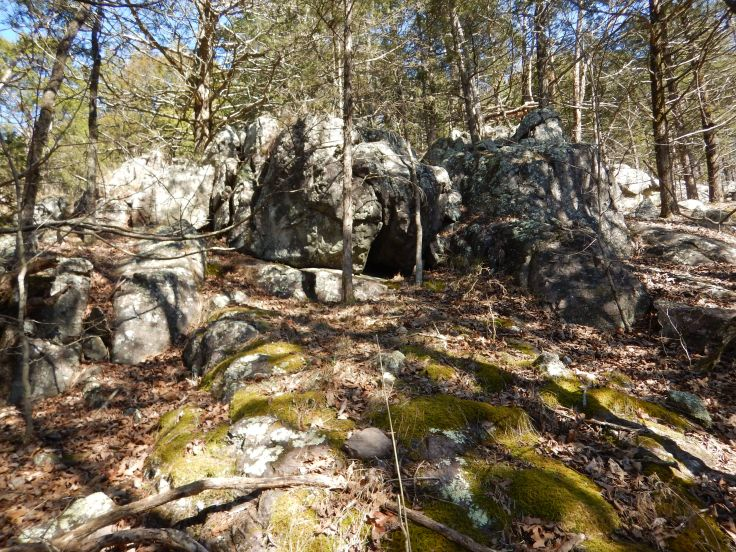 Rocky terrain is great for conditioning for the northern part of the AT